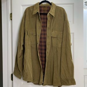 Men's Flannel Lined Button Down